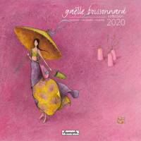 Calendrier 2020 16x16 Gaëlle Boissonnard L'ombrelle