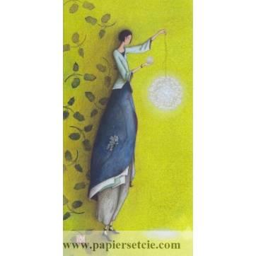 Carte simple Gaelle Boissonnard  21x10,5 Le Pendule
