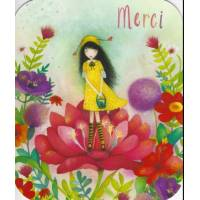"Carte format ""Ecran"" Mila Bee Happy Merci"