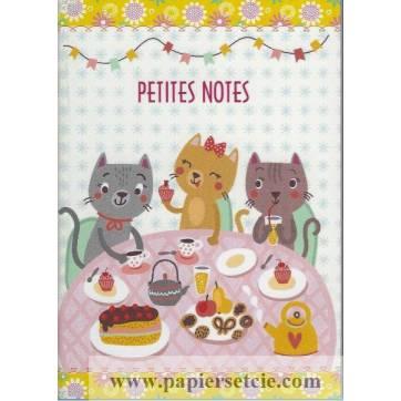 Carnet Gwenaëlle Trolez Chats Petites notes