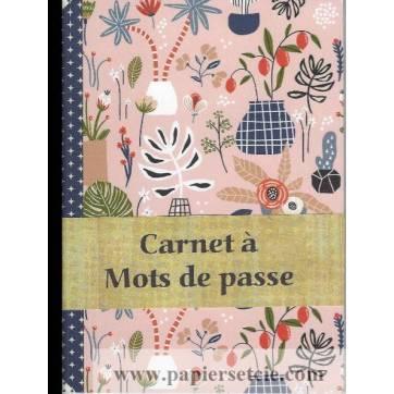Carnet à mots de passe Gwenaëlle Trolez Petites plantes