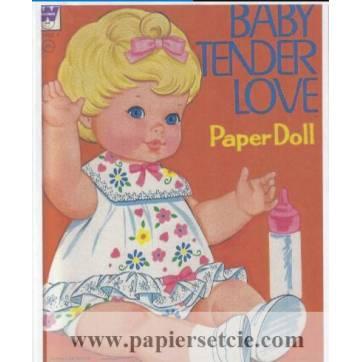 Poupée à découper et habiller Baby Tender Love