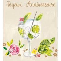 Carte Anniversaire Paper Salad Joyeux Anniversaire Mojito