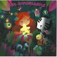 Carte Elen Lescoat Bon Anniversaire L'Etoile lumineuse
