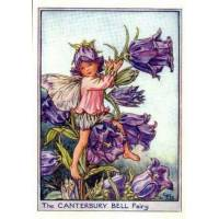 """Carte """"Fées des Fleurs"""" Cicely Mary Barker """"Campanule bleue"""""""