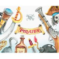 Carte Anniversaire enfants Pirate Jack