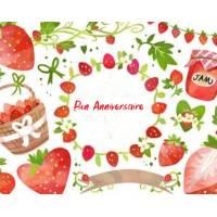 Carte Anniversaire enfants aquarelle Anniversaire gourmand