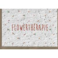 """Carte à planter """"Flowerthérapie"""", graines de Fleurs des champs"""