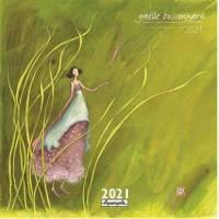 Calendrier 2021 16 x 16 Gaëlle Boissonnard Les Herbes