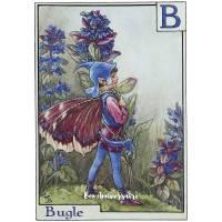 Carte Anniversaire Fées des Fleurs Bugle