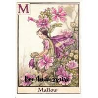 Carte Anniversaire Fées des Fleurs Mauves