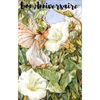 Carte Anniversaire Fées des Fleurs Liseron blanc