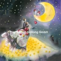 Carte Nina Chen Les Amoureux et le croissant de Lune
