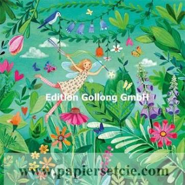 Carte Mila Marquis Elfe dans la Forêt de Fleurs