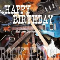 Carte Anniversaire Happy Birthday Rock 'n Roll