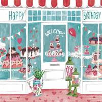 Carte Anniversaire Cartita Design La Patisserie
