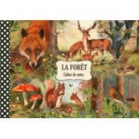 Carnet de Voyage Livre d'Or Gwenaëlle Trolez Forêt