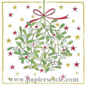Carte Joyeux Noël ou Nouvel an Kerstin Hess Gui