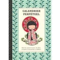 Calendrier d'anniversaires perpétuel Gwenaëlle Trolez Japon