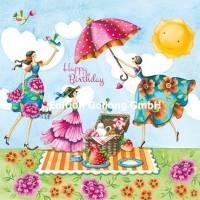 Carte Anniversaire Nina Chen Happy Birthday Pique Nique