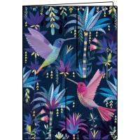 Carnet Mila Marquis Les Oiseaux 10,5 x 15 cm