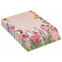 Bloc Notes imprimé Fleurs et Abeilles