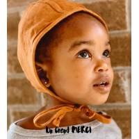 Carte Merci Portrait d'Enfant au Bonnet jaune