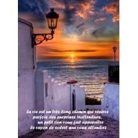 """Citation sur la Vie """"La vie est un très long chemin qui réserve..."""""""