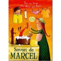 Poster Affiche Amandine Piu Savon de Marcel