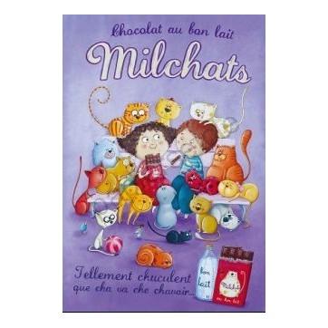 Poster Affiche Amandine Piu  Milchats