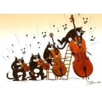 Carte Claude Henri Saunier Le Quatuor