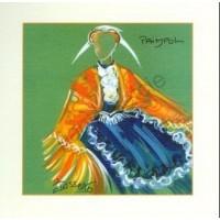 Carte Joëlle Josselin Costume de Paimpol