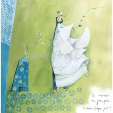 Carte Anne Sophie Rutsaert Se marier un jour, puis...s'aimer chaque jour!