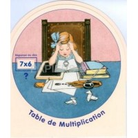 Disque table de multiplication D 20