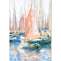 Carte Philippe Vandenberghe Voiles rouges