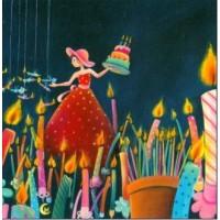 Carte Marie Cardouat La forêt de bougies