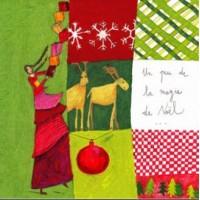 Carte Anne-Sophie Rutsaert Un peu de la magie de Noël...