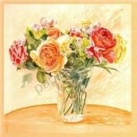 Carte Autour d'un bouquet