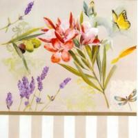 Carte Lizzie Papillon Jaune