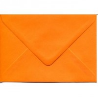Enveloppe rectangulaire orange