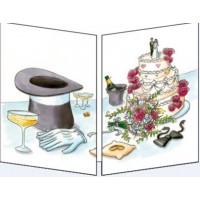 Carte Sophie Turrel Le gateau de mariage