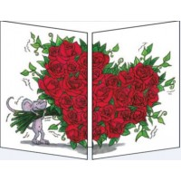 Carte Sophie Turrel Le bouquet de roses