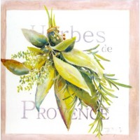Carte Lizzie Herbes de Provence