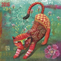 Calendrier 2016 16x16 Izou Red Cat