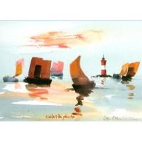 Carte Charles Cambier Voiles de Pêche