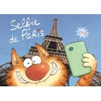 Carte Valérie Michaut Selfie de PARIS!