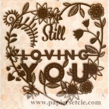 "Carte Florence Weizer """"Still loving you"""""