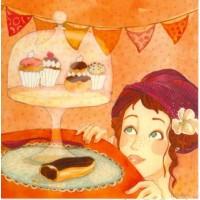 Carte Anne-Soline Sintès La Gourmandise