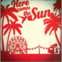 "Carte Florence Weizer ""Here comes the sun"""