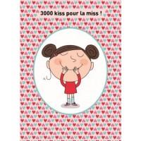 Carte Sophie Dollé 3000 Kiss pour la Miss